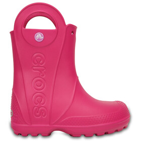 Crocs Handle It Rain Boots Kids, candy pink